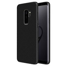 Coque Silicone Gel Serge B02 pour Samsung Galaxy S9 Plus Noir