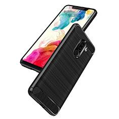 Coque Silicone Gel Serge B02 pour Xiaomi Pocophone F1 Noir