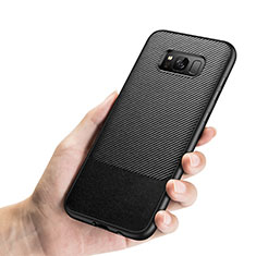 Coque Silicone Gel Serge B03 pour Samsung Galaxy S8 Plus Noir