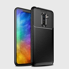 Coque Silicone Gel Serge B03 pour Xiaomi Pocophone F1 Noir