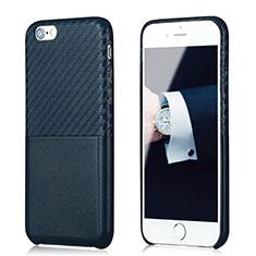 Coque Silicone Gel Serge B05 pour Apple iPhone 6S Bleu