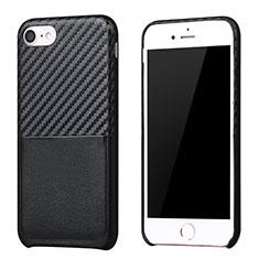 Coque Silicone Gel Serge B05 pour Apple iPhone 7 Noir