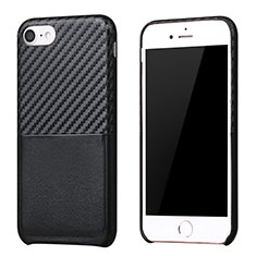 Coque Silicone Gel Serge B05 pour Apple iPhone 8 Noir