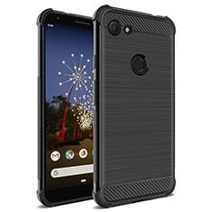 Coque Silicone Gel Serge pour Google Pixel 3 Noir