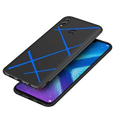 Coque Silicone Gel Serge pour Huawei Honor 8X Bleu