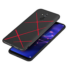 Coque Silicone Gel Serge pour Huawei Mate 20 Lite Rouge