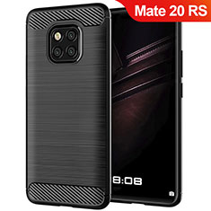 Coque Silicone Gel Serge pour Huawei Mate 20 RS Noir