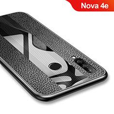Coque Silicone Gel Serge pour Huawei Nova 4e Noir