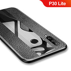 Coque Silicone Gel Serge pour Huawei P30 Lite Noir