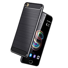 Coque Silicone Gel Serge pour Huawei P8 Max Noir