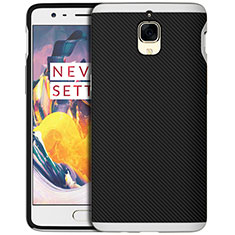 Coque Silicone Gel Serge pour OnePlus 3 Argent