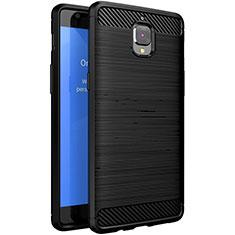 Coque Silicone Gel Serge pour OnePlus 3 Noir
