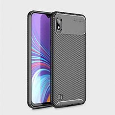 Coque Silicone Gel Serge pour Samsung Galaxy A10 Noir