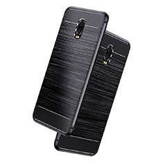 Coque Silicone Gel Serge pour Samsung Galaxy C8 C710F Noir