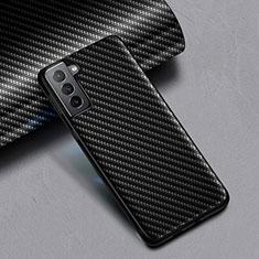 Coque Silicone Gel Serge pour Samsung Galaxy S21 5G Noir