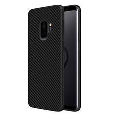 Coque Silicone Gel Serge pour Samsung Galaxy S9 Noir