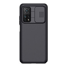 Coque Silicone Gel Serge pour Xiaomi Mi 10T 5G Noir