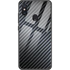 Coque Silicone Gel Serge pour Xiaomi Mi 8 Noir