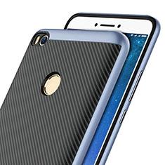 Coque Silicone Gel Serge pour Xiaomi Mi Max 2 Bleu