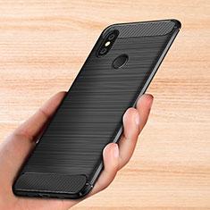 Coque Silicone Gel Serge pour Xiaomi Mi Mix 3 Noir
