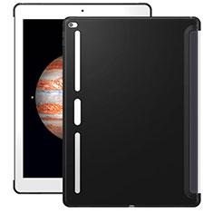 Coque Silicone Gel Souple Couleur Unie pour Apple iPad Pro 12.9 Noir