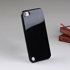 Coque Silicone Gel Souple Couleur Unie pour Apple iPod Touch 5 Noir