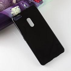 Coque Silicone Gel Souple Couleur Unie pour Asus Zenfone 3 Ultra ZU680KL Noir