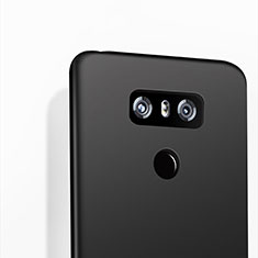 Coque Silicone Gel Souple Couleur Unie pour LG G6 Noir