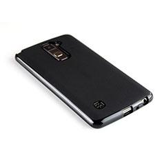 Coque Silicone Gel Souple Couleur Unie pour LG Stylus 2 Plus Noir