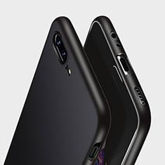 Coque Silicone Gel Souple Couleur Unie pour OnePlus 5 Noir
