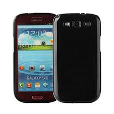 Coque Silicone Gel Souple Couleur Unie pour Samsung Galaxy S3 i9300 Noir