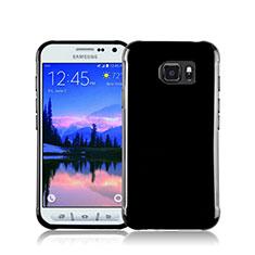 Coque Silicone Gel Souple Couleur Unie pour Samsung Galaxy S7 Active G891A Noir