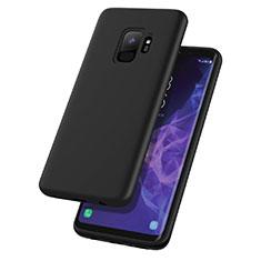 Coque Silicone Gel Souple Couleur Unie pour Samsung Galaxy S9 Noir
