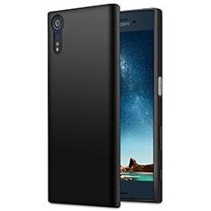 Coque Silicone Gel Souple Couleur Unie pour Sony Xperia XZ Noir