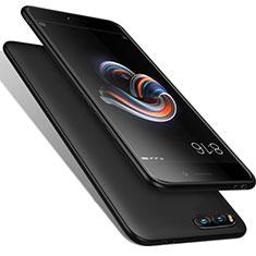 Coque Silicone Gel Souple Couleur Unie pour Xiaomi Mi Note 3 Noir