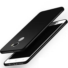 Coque Silicone Gel Souple Couleur Unie pour Xiaomi Redmi 4 Standard Edition Noir