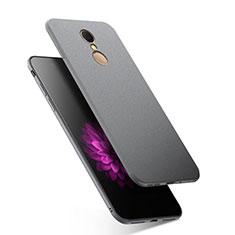 Coque Silicone Gel Souple Couleur Unie pour Xiaomi Redmi 5 Gris