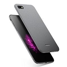 Coque Silicone Gel Souple Couleur Unie pour Xiaomi Redmi 6A Gris