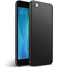 Coque Silicone Gel Souple Couleur Unie pour Xiaomi Redmi Note 5A Standard Edition Noir