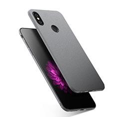 Coque Silicone Gel Souple Couleur Unie pour Xiaomi Redmi Y2 Gris