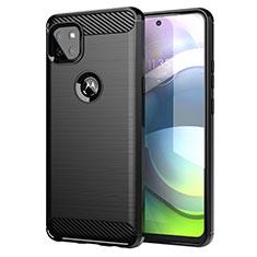 Coque Silicone Housse Etui Gel Line pour Motorola Moto G 5G Noir