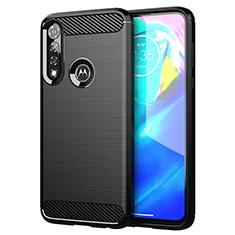 Coque Silicone Housse Etui Gel Line pour Motorola Moto G Power Noir