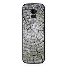 Coque Silicone Housse Etui Gel Line pour Nokia 8110 (2018) Argent