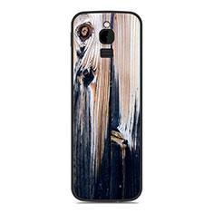 Coque Silicone Housse Etui Gel Line pour Nokia 8110 (2018) Gris Fonce