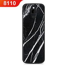 Coque Silicone Housse Etui Gel Line pour Nokia 8110 (2018) Noir
