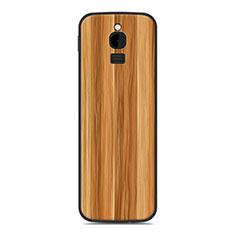 Coque Silicone Housse Etui Gel Line pour Nokia 8110 (2018) Or