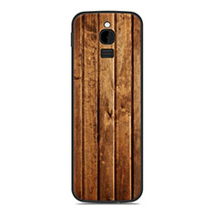 Coque Silicone Housse Etui Gel Line pour Nokia 8110 (2018) Orange