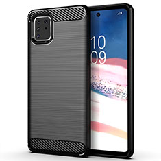 Coque Silicone Housse Etui Gel Line pour Samsung Galaxy A81 Noir