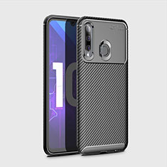 Coque Silicone Housse Etui Gel Serge pour Huawei Honor 20 Lite Noir