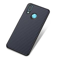 Coque Silicone Housse Etui Gel Serge pour Huawei Nova 3 Bleu
